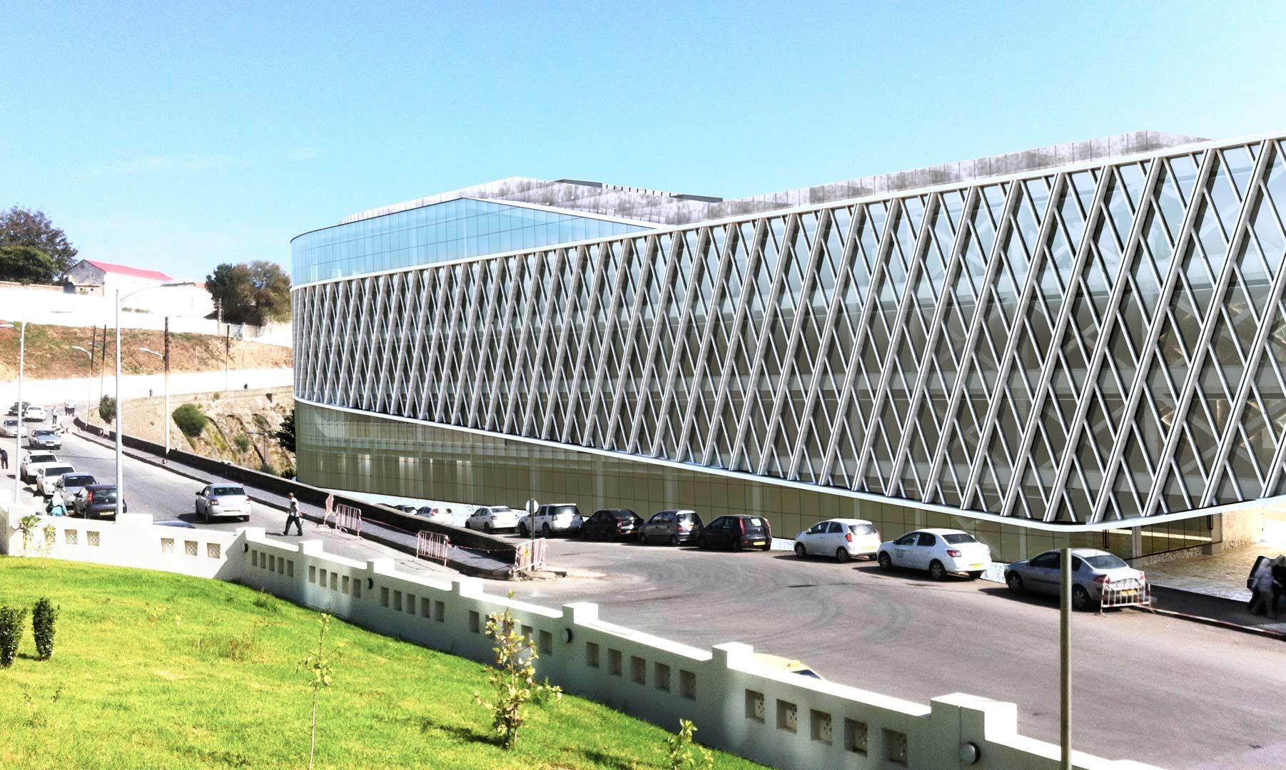 Rendering Annaba Mall (Algeria) - Studio Archea Progetti