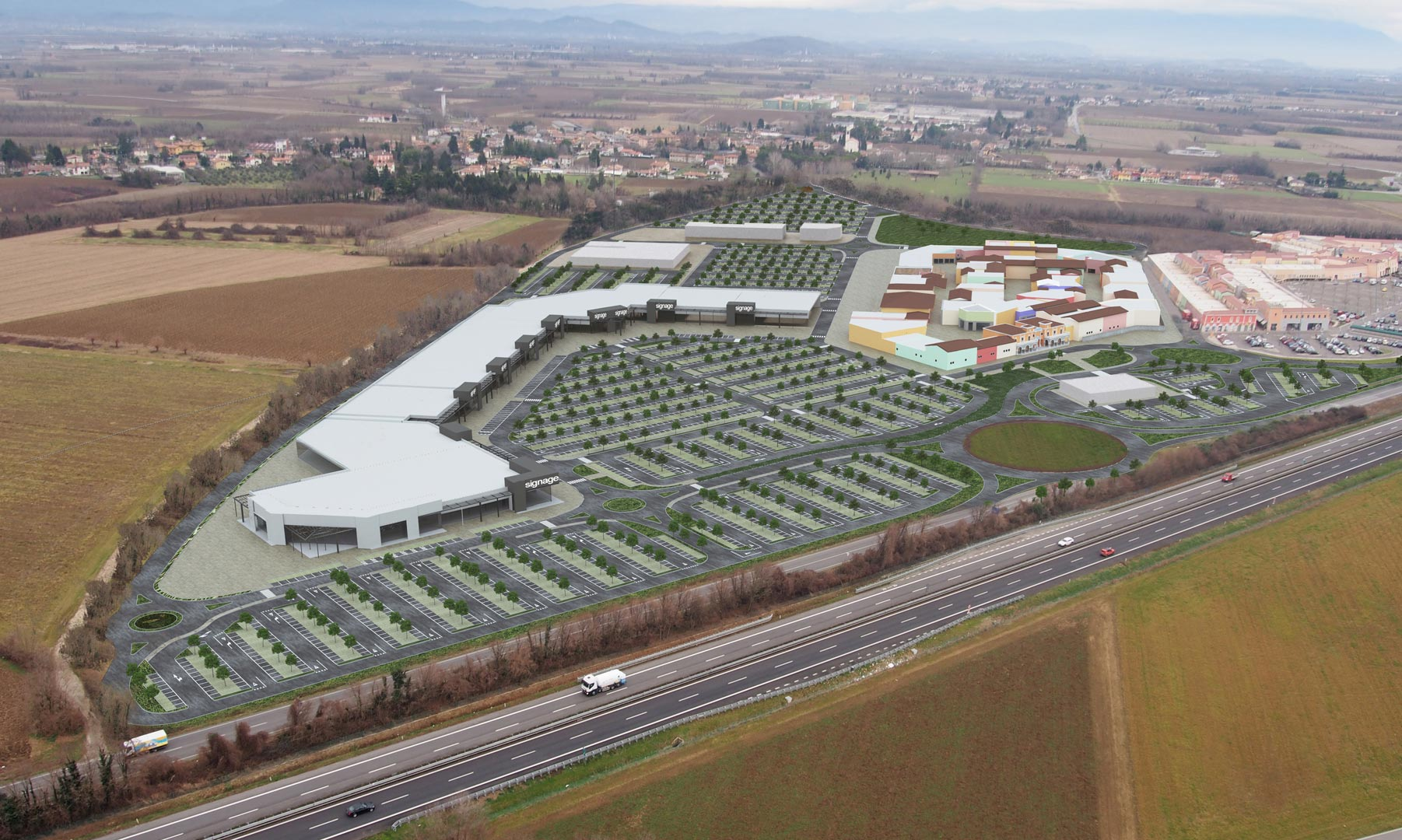 Palmanova Retail Park - Studio Archea Progetti